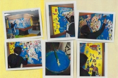 Work in progress - Mural Commission, Crooked Creek Elementary School, USA